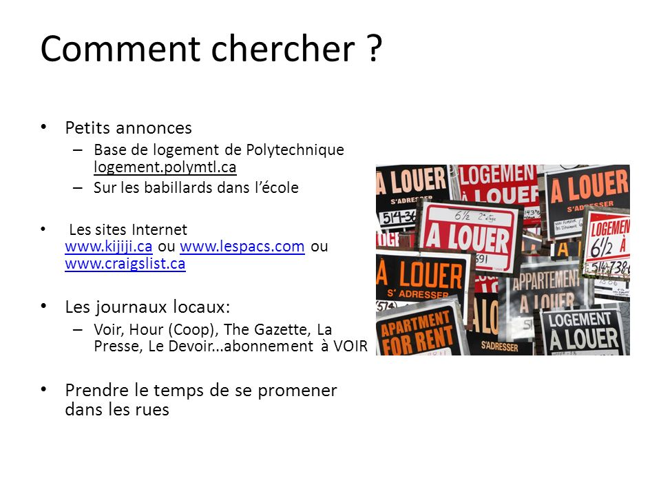 sites de branchement gratuit comme craigslist