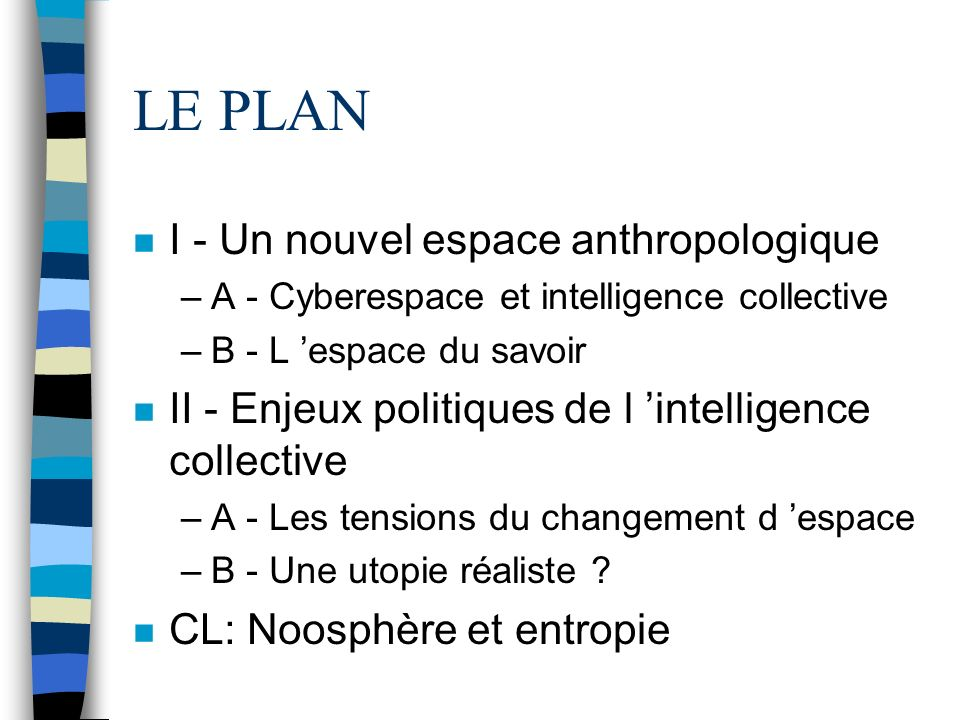 L Intelligence collective Pour une anthropologie du cyberespace
