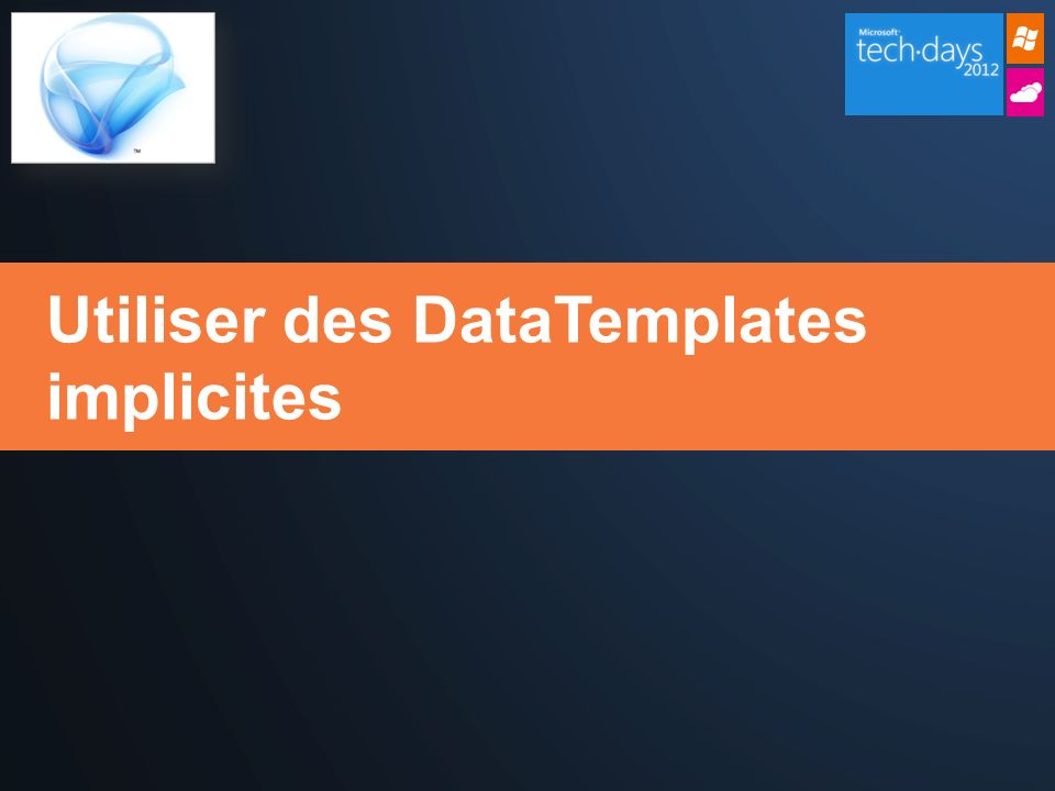 Utiliser des DataTemplates implicites