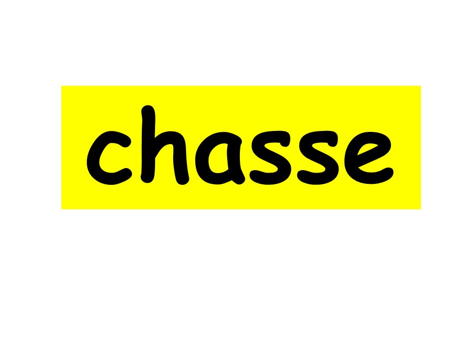 chasse