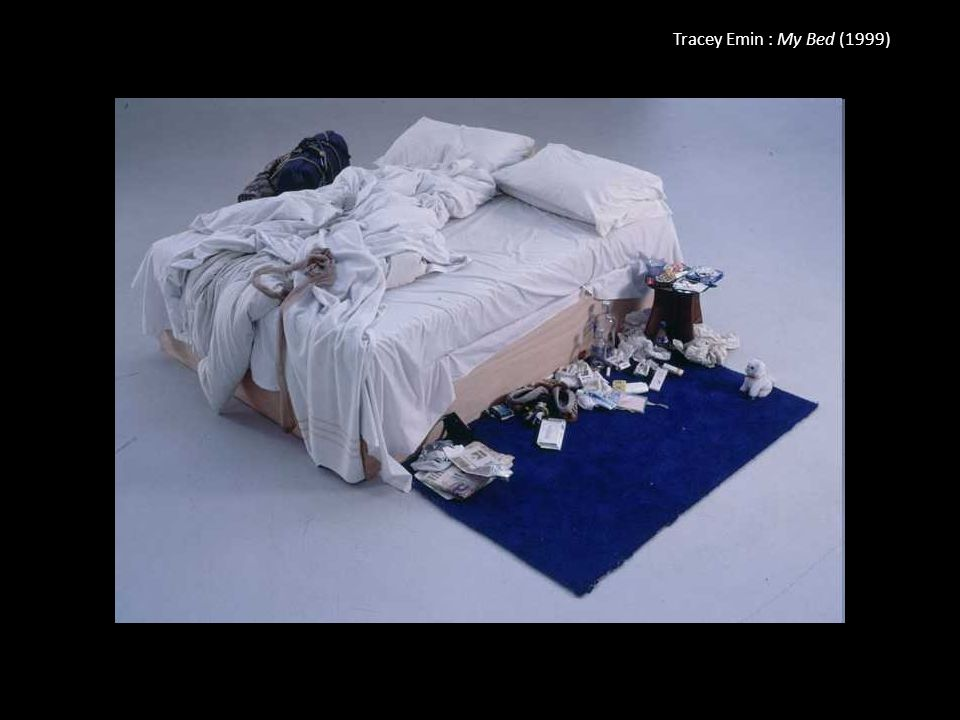 Tracey Emin : My Bed (1999)