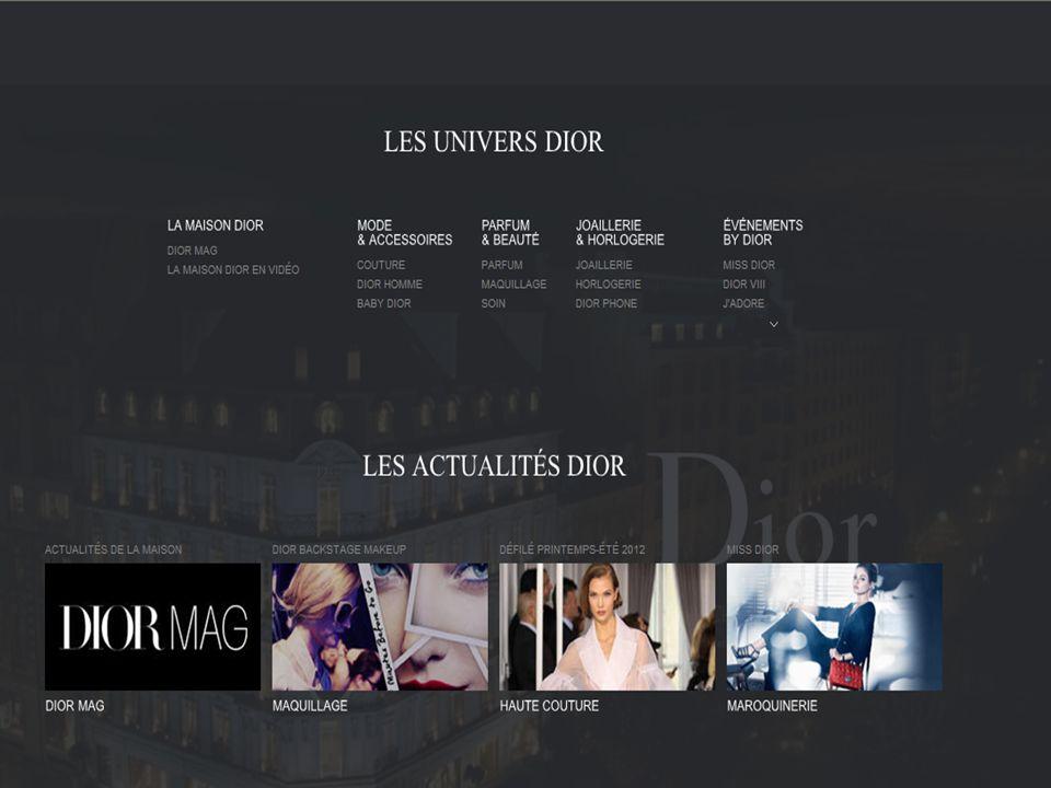 805cffd755 Christian Dior - les produits et l'histoire - ppt télécharger