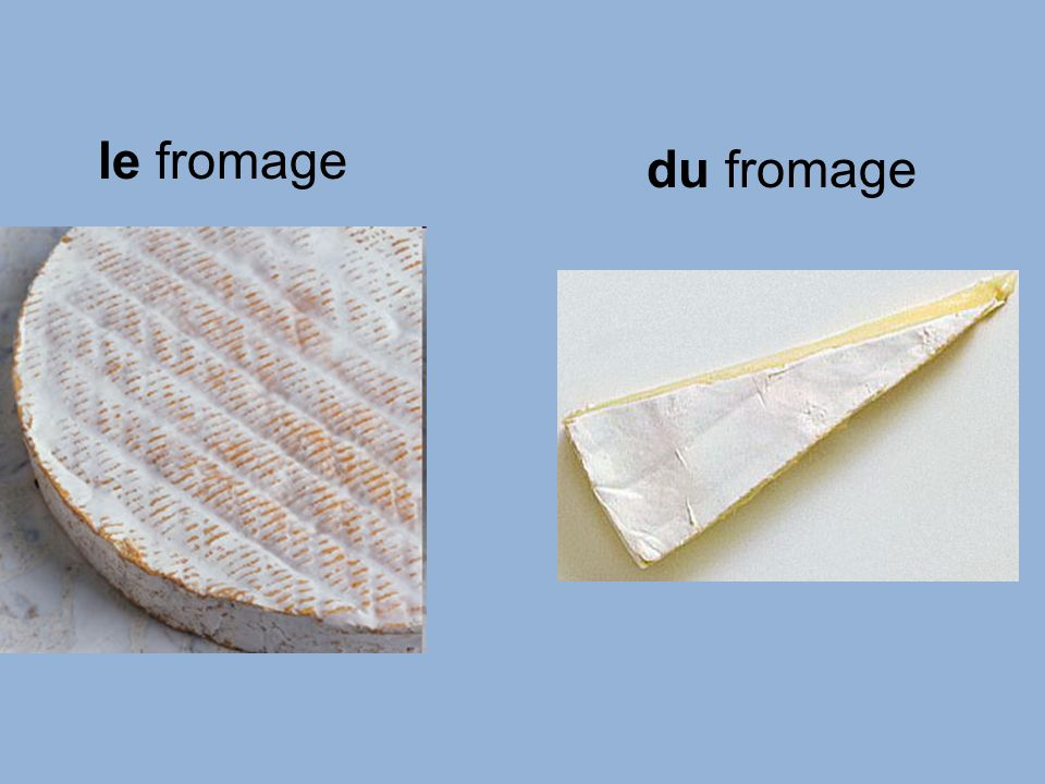 le fromage du fromage