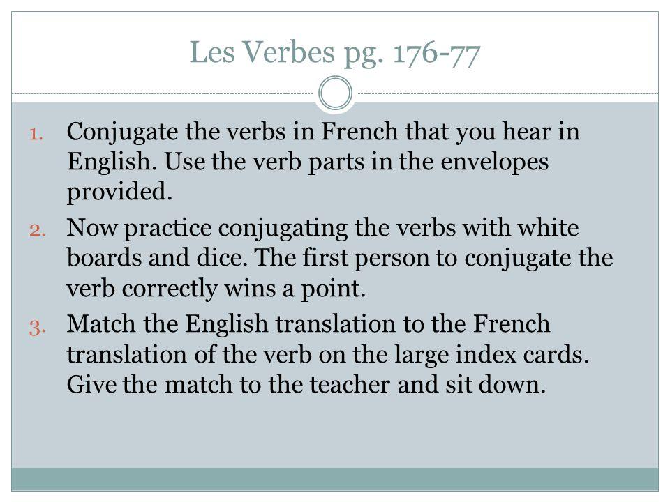 rencontre conjugation french