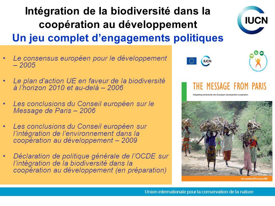 consensus européen pour le développement