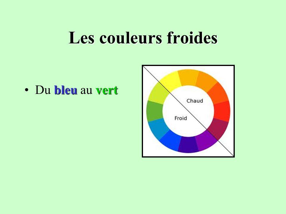 Les couleurs Conception Émilie Caron Les couleurs chaudes ...