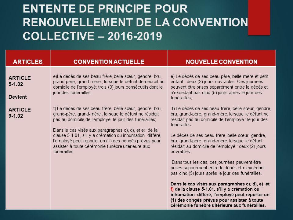 Presentation Projet Renouvellemen Entente De Principe Entre La Grics