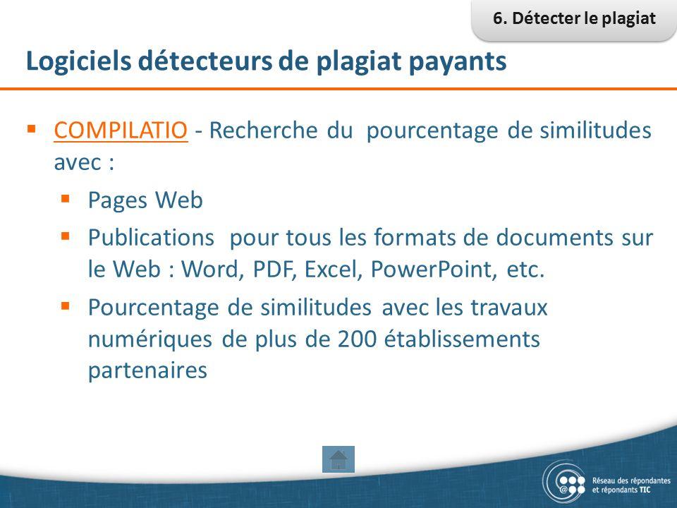 logiciel pour detecter le plagiat