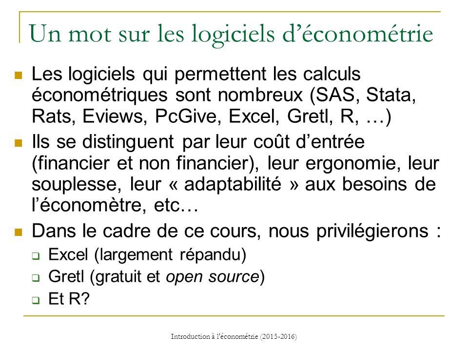 COURS DE L ECONOMETRIE EPUB