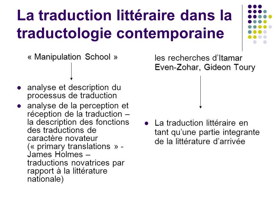 manipulation traduction