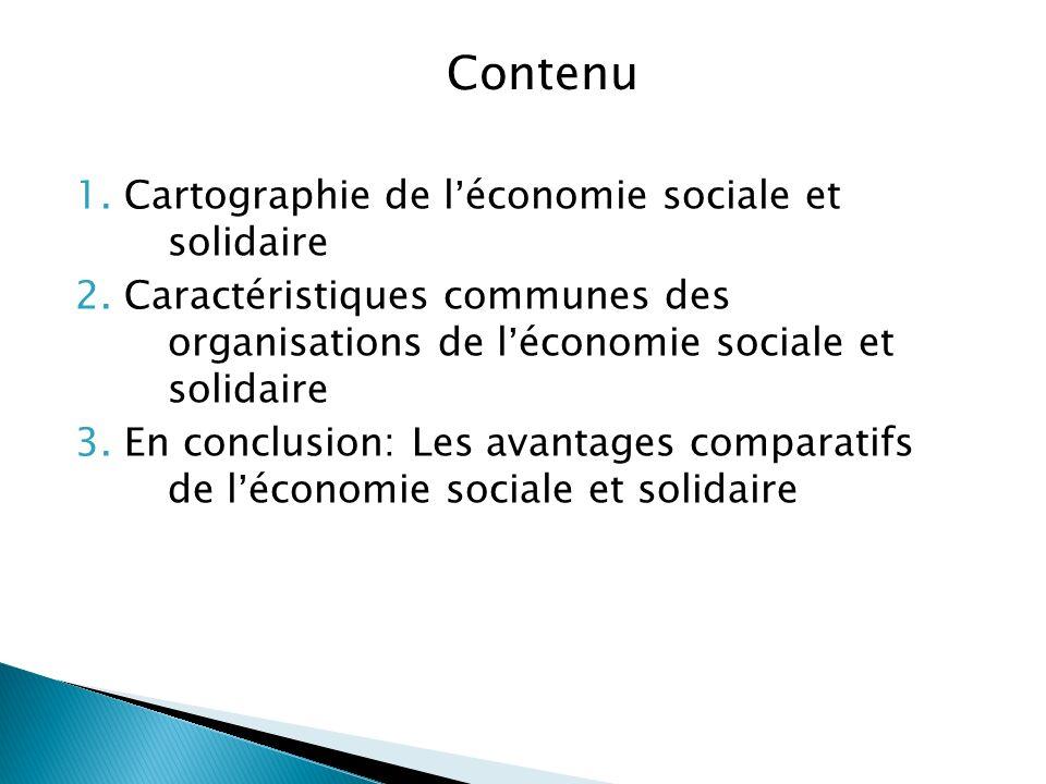Signification Et Nature De L Economie Sociale Et Solidaire
