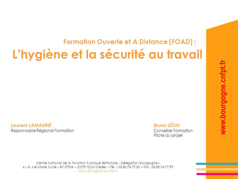 formation a distance hygiene et securite