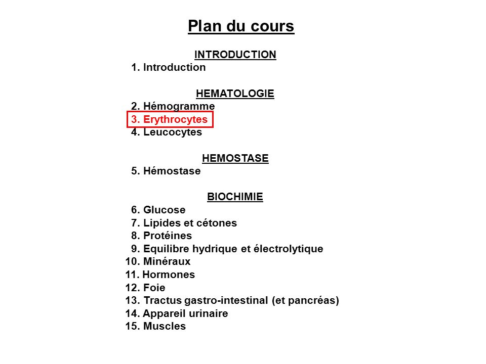 appareil hematogie pdf