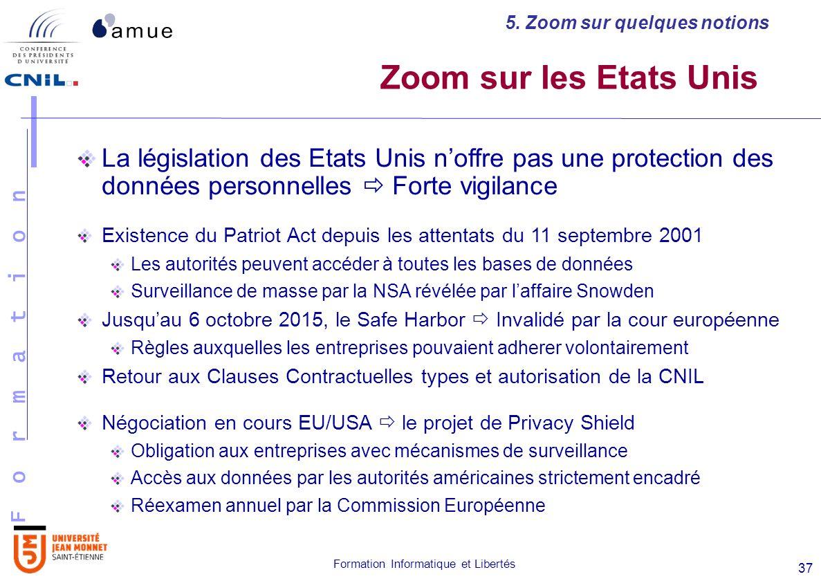 Formation Informatique Et Libertes Les Principes De La Protection