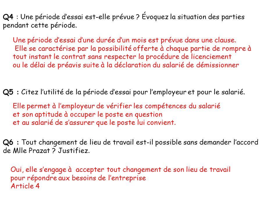 Tp 1 Le Contrat De Travail Forme Contenu Obligations Pouvoir