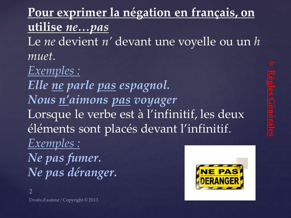 Francais Prof Rachele Demeo M A M Ed 1 Droits D Auteur Copyright C Ppt Telecharger