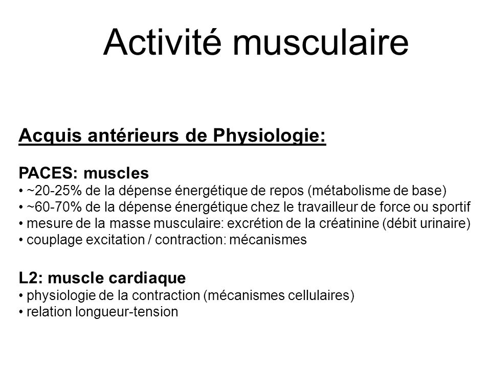 tension masse musculaire
