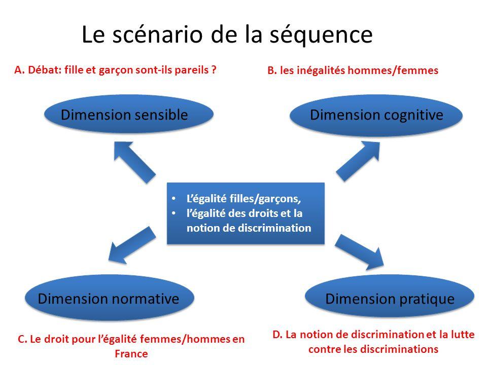 égalité différences discriminations séquence