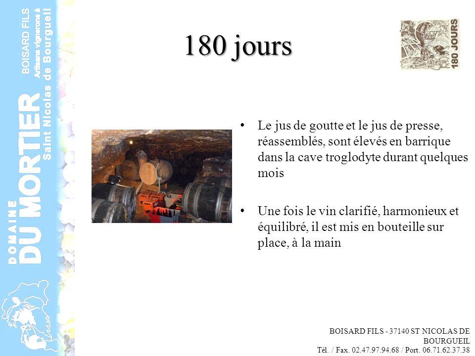 La Cuvee 180 Jours Boisard Fils St Nicolas De Bourgueil Tel Fax