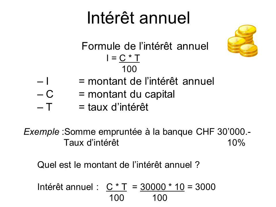Calcul De L Interet Comment Calculer L Interet D Un Compte Courant