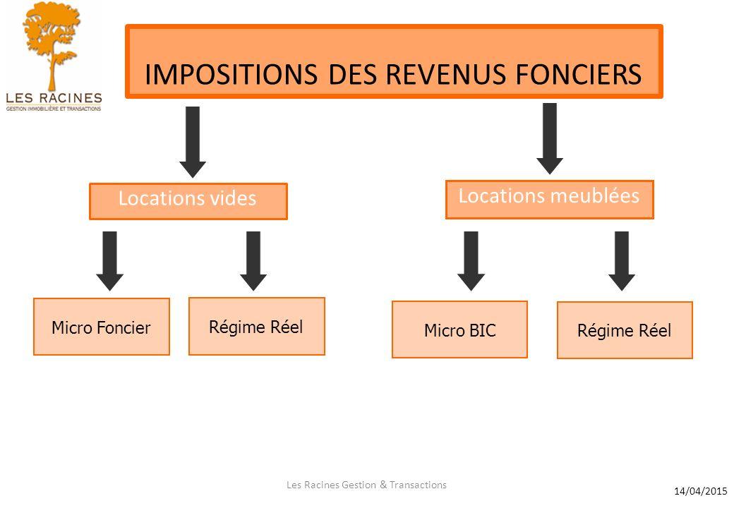 Les Racines Gestion Transactions Impositions Des Revenus