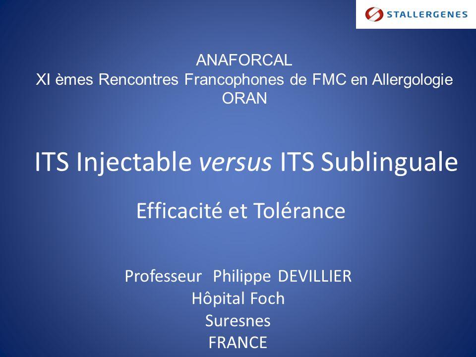 rencontres francophones de fmc en allergologie)