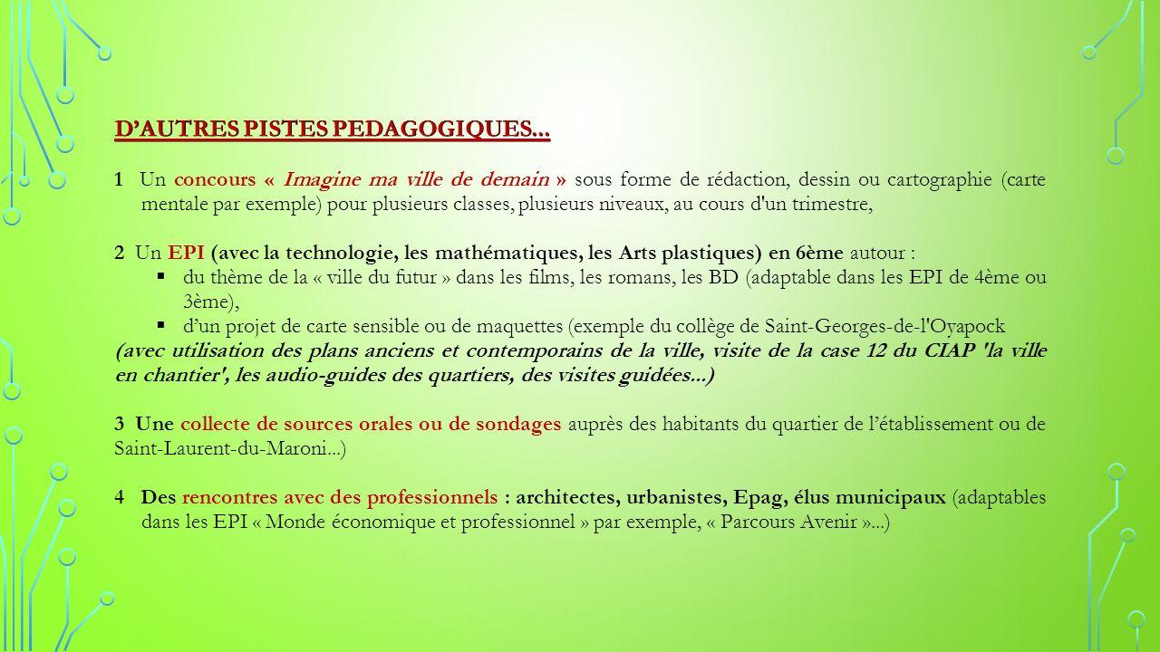 Prolongements Pistes Pedagogiques Sitographie Et Bibliographie