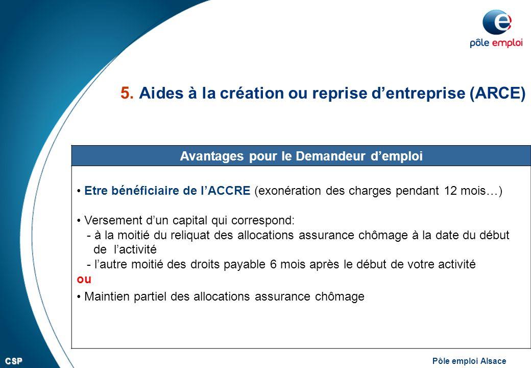 Pole Emploi Alsacecsp Presentation Des Aides Financieres Aux