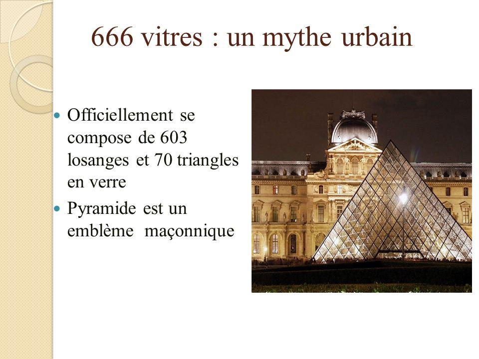Resultado de imagen para pyramide du louvre 666