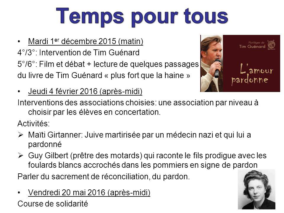 Mardi 1 Er Decembre 2015 Matin 4 3 Intervention De Tim Guenard