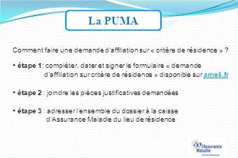 puma affiliation