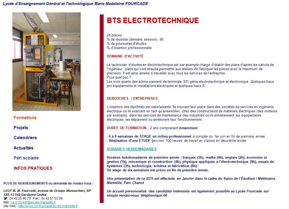 Ebook Entreprise Stage Bts Electrotechnique