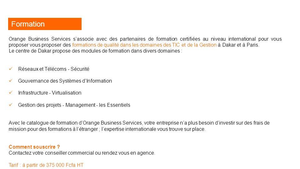 Catalogue des solutions Orange Business Services  - ppt