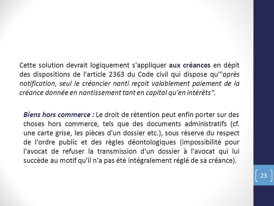 Seminaire De Droit Approfondi Des Garanties De Paiement Master 2 De