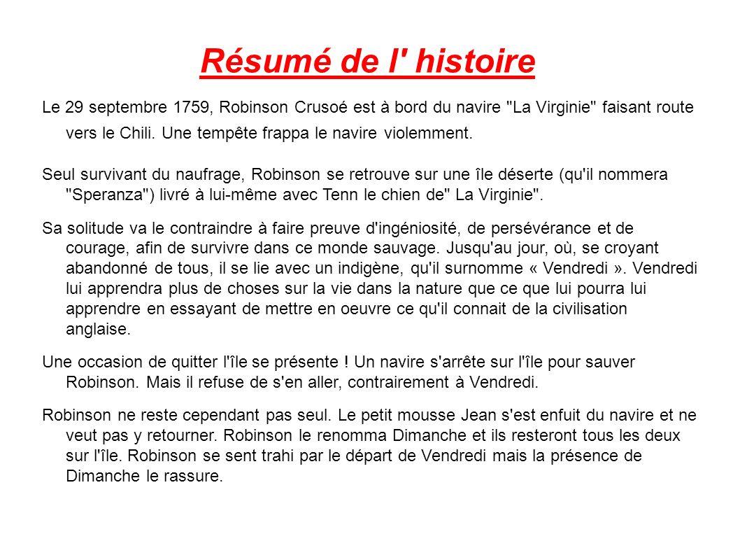 Vendredi Ou La Vie Sauvage Biographie De L Auteur Michel