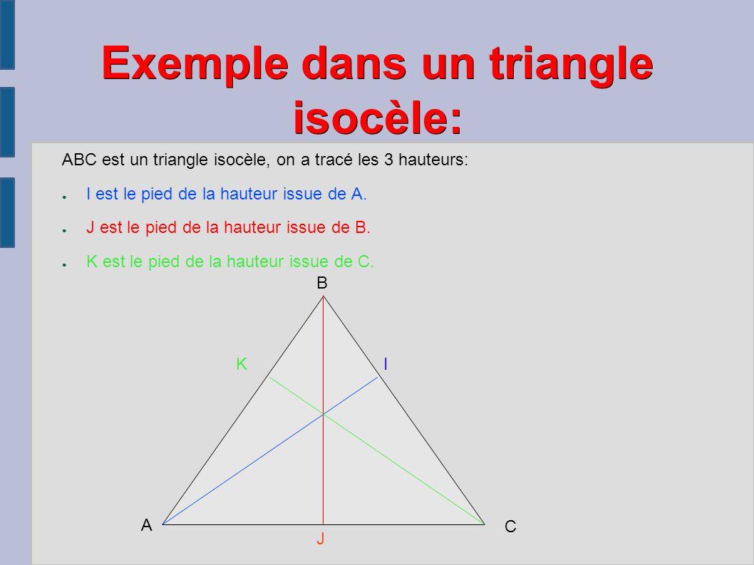 abc est un triangle