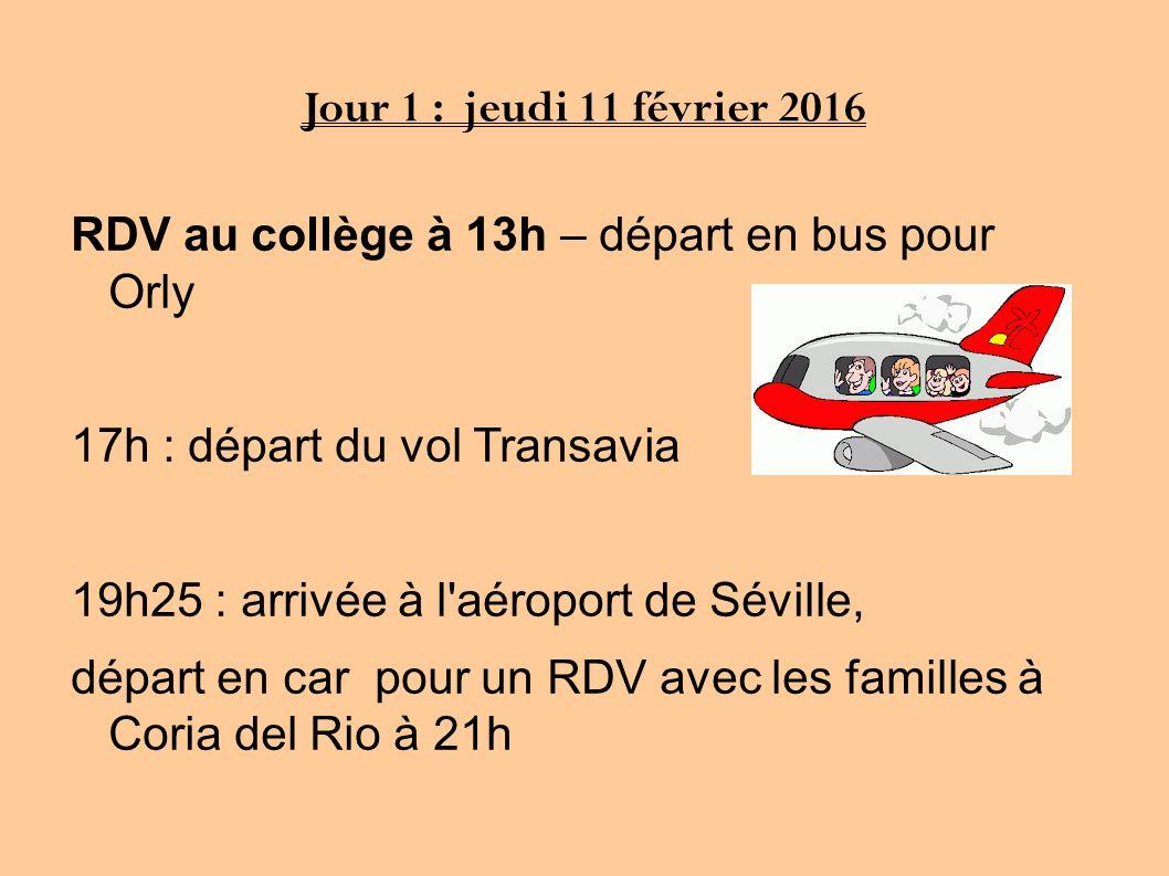 depart orly transavia