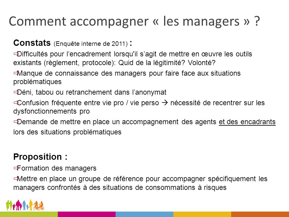 Comment accompagner « les managers » .