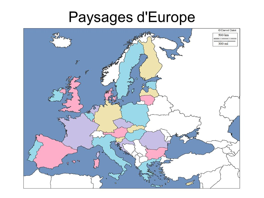 Paysages d Europe