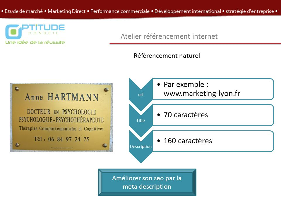 Etude De Marche Marketing Direct Performance Commerciale