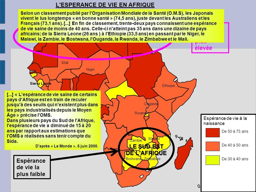 Afrique Du Nord Afrique Australe Revenu Par Habitant Le Plus Eleve