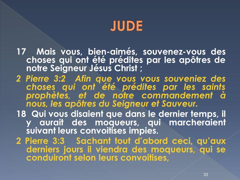 1. ÉPÎTRE DE JUDE: Cette Épître a été écrite, de même que la seconde de  Pierre, dont elle est comme l'abrégé, contre des séducteurs. - ppt  télécharger