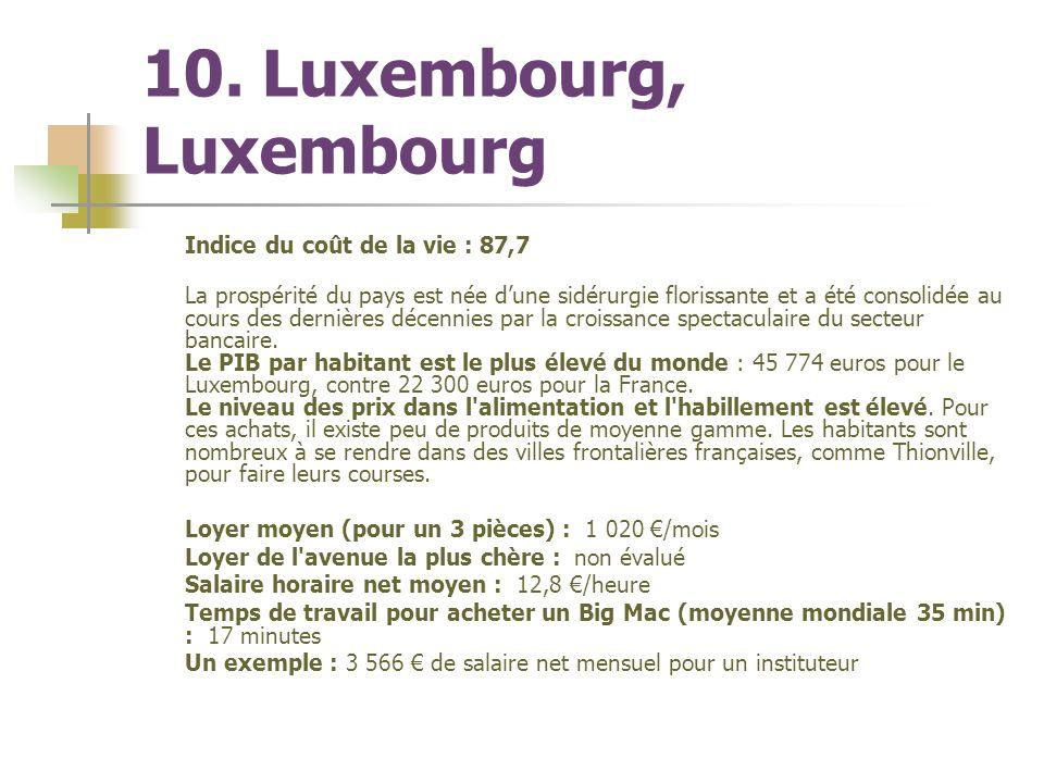 Une Enquete Menee Dans 71 Villes Du Monde La Banque Suisse Ubs A