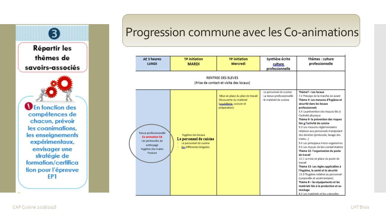 Cap Cuisine Le Plan De Formation La Sequence Pedagogique Ppt