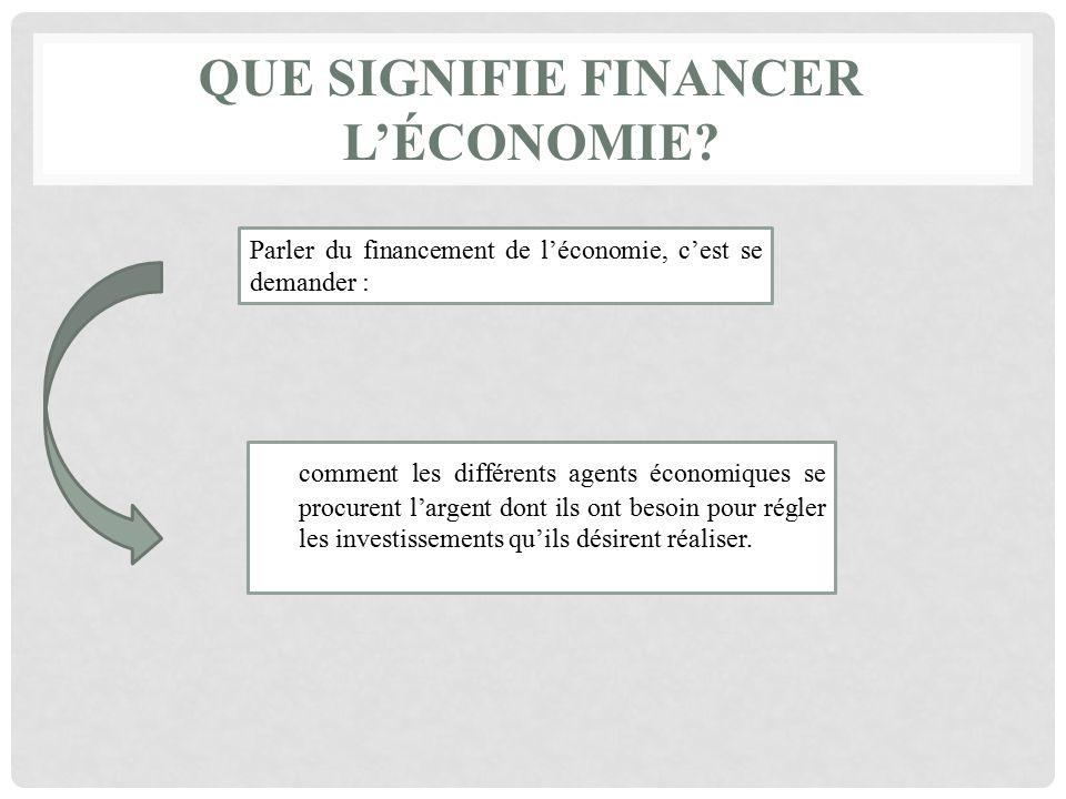 Le Marche Des Capitaux Ou Comment Financer L Economie Le Marche Des