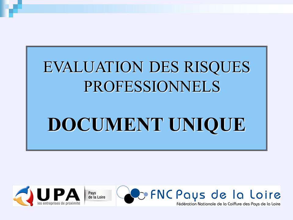 Evaluation Des Risques Professionnels Document Unique Ppt Telecharger