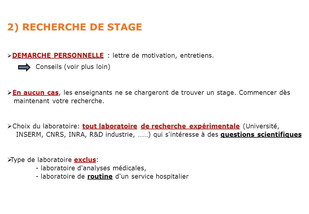Master 1 Biologie Sante Reunion Information Stage Ppt Telecharger