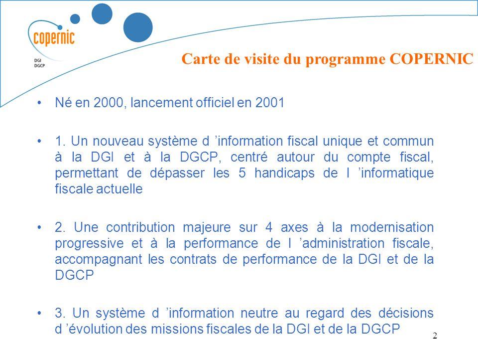 1 Le Programme COPERNIC Alain LELOUEY 2 Ne En 2000 Lancement