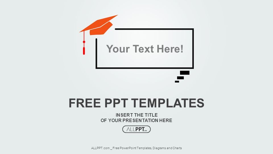 Insert Powerpoint Template | Insert The Title Of Your Presentation Here Free Ppt Templates Allppt
