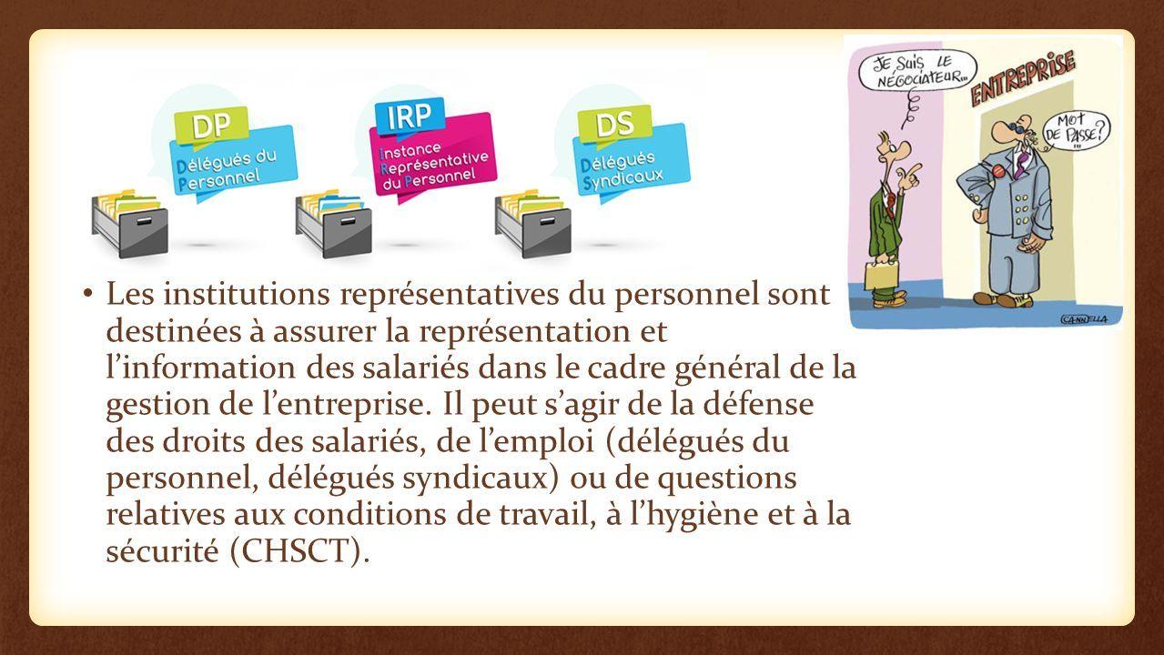 Les I R P Reunion D Informations Instance Representative Du